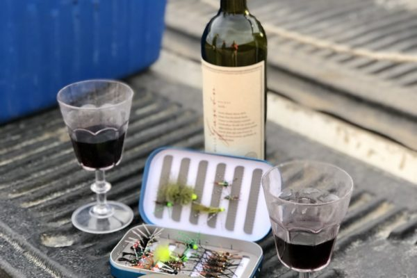 A change of tactics always requires a glass of Malbec